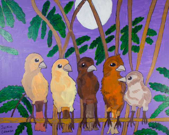 The Five Singing Birds!