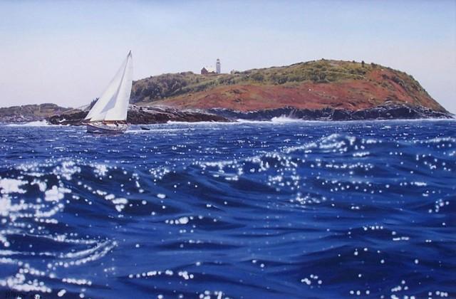Seguin Island 24 x 36