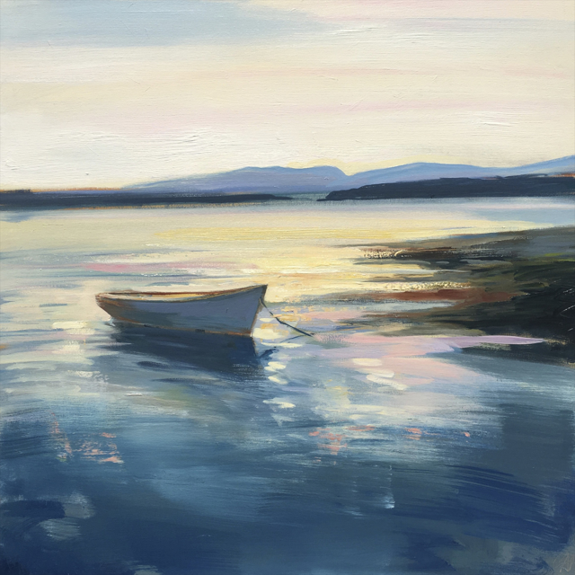 "Craig Mooney | Dory Calm | Oil | 37"" X 37"" 