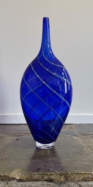Cobalt Cane Bottle