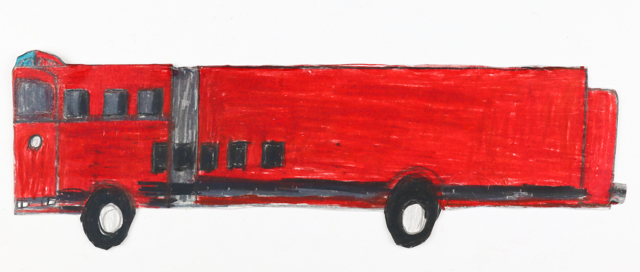Red Fire Man Truck