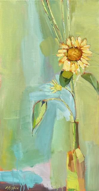 "Claire Bigbee | Face Towards the Sun | Oil on Canvas | 30"" X 15"" | $1,950.00"
