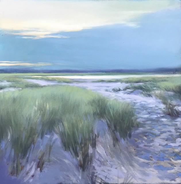 "Margaret Gerding   Perfect Ending   Oil on Canvas   24"" X 24""   Sold"