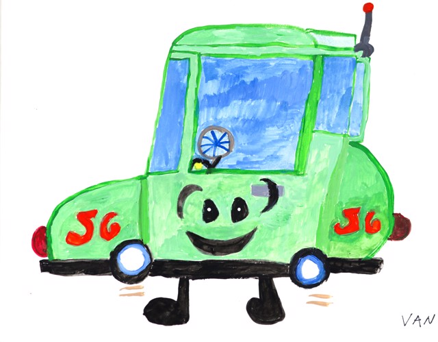 The Driving Car 56