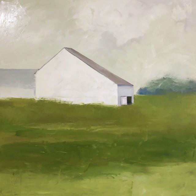 "Jill Matthews | Heading up North | Oil on Canvas | 36"" X 36"" | $2,950.00"