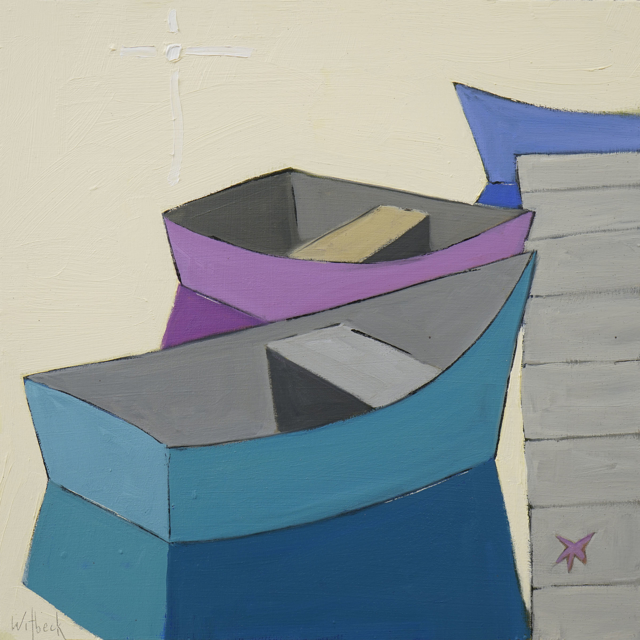 Purple and Teal Dinghy