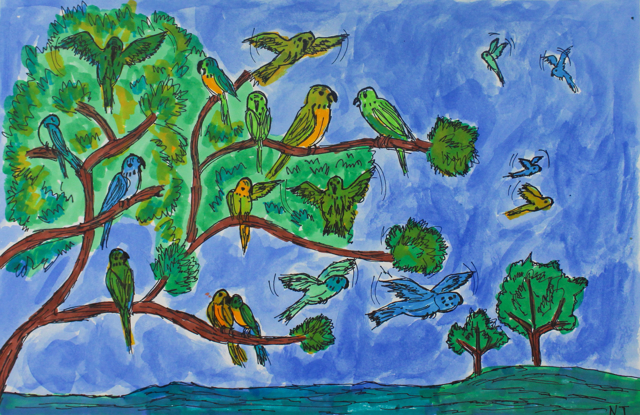 Parrot Communication (FRAMED)