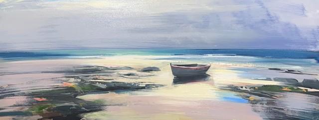 "Craig Mooney   Sea Foam   Oil on Canvas   24"" X 60""   Sold"