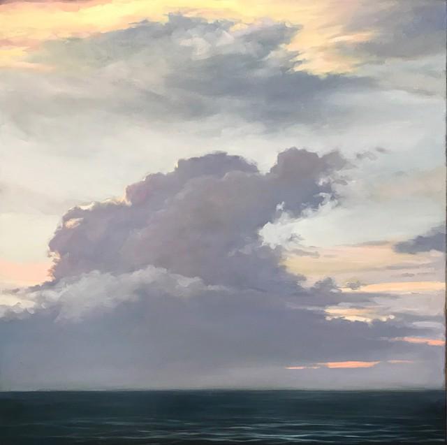 "Margaret Gerding   Majestic Sky I   Oil on Canvas   24"" X 24""   $4,000.00"