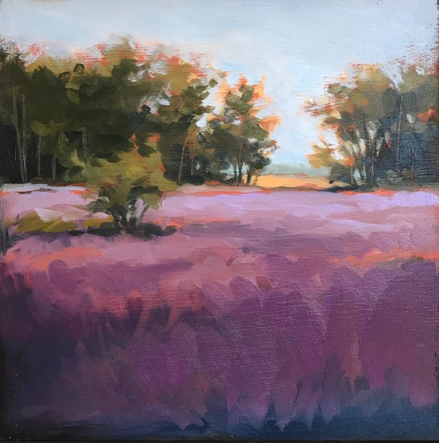 "Margaret Gerding | Close to Home - Day 12 | Oil on Panel | 8"" X 8"" 