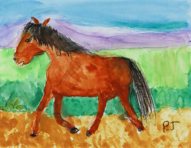 My Horse (FRAMED)