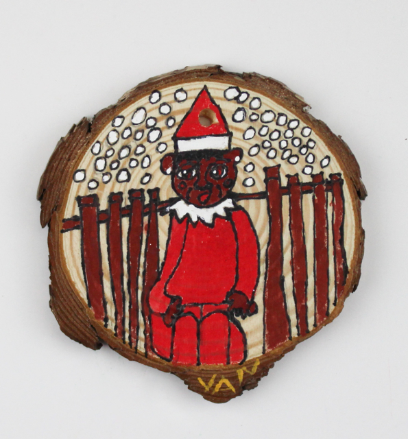 Elf/Yellow Bear ornament