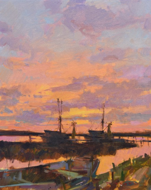 Sunset on the Creek