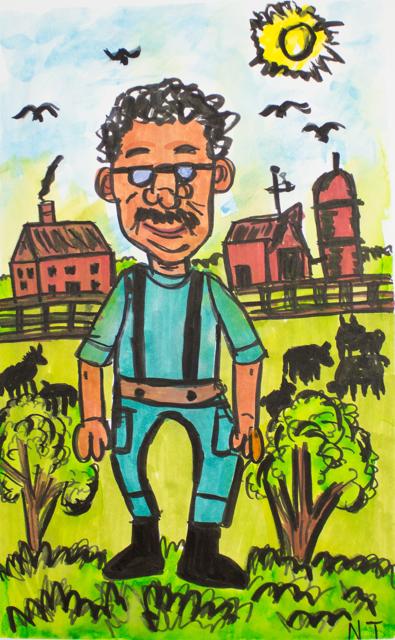 Man on the Farm