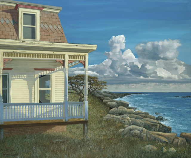 "Edward Gordon | Yesterday | Oil on Panel | 15"" X 18"" 