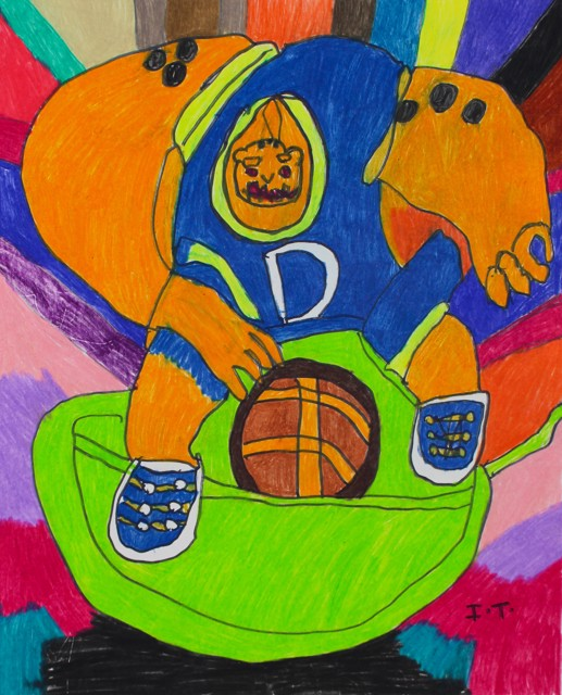 Monster from Space Jam
