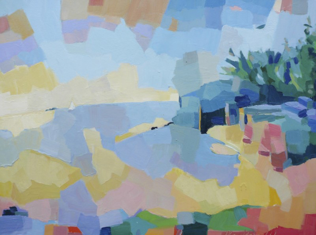 "Henry Isaacs | Cove Mt. Desert | Oil | 30"" X 40"" | $5,200.00"