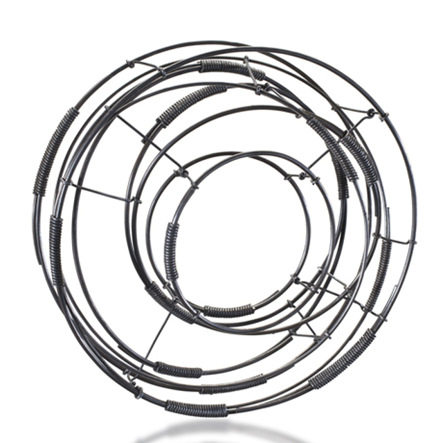 Steel Bracelet: One of a Kind Circle