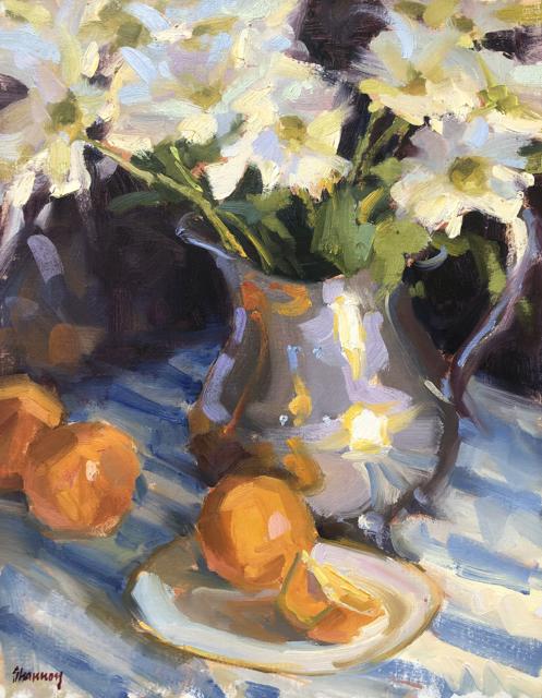 Daisies and Oranges