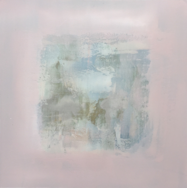 "Charles Bluett | Calm Series I | Acrylic on Canvas | 30"" X 30"" | Sold"