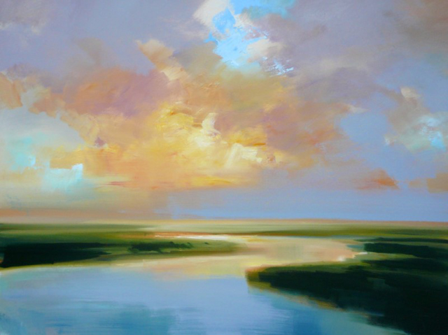 "Craig Mooney | Magic Hour | Oil | 36"" X 48"" 
