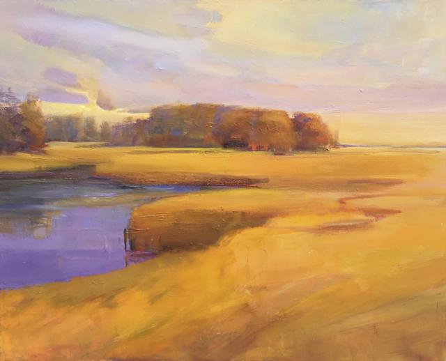 "Holly Ready | Fall Color | Oil on Canvas | 24"" X 30"" | $4,000.00"