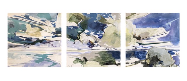 Afternoon, Triptych