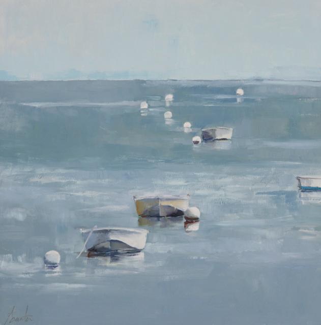 "Ellen Welch Granter | Array | Oil on Panel | 19.75"" X 19.75"" | $2,000.00"