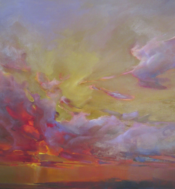 "Holly Ready | Sailor's Delight | Oil on Canvas | 30"" X 30"" 