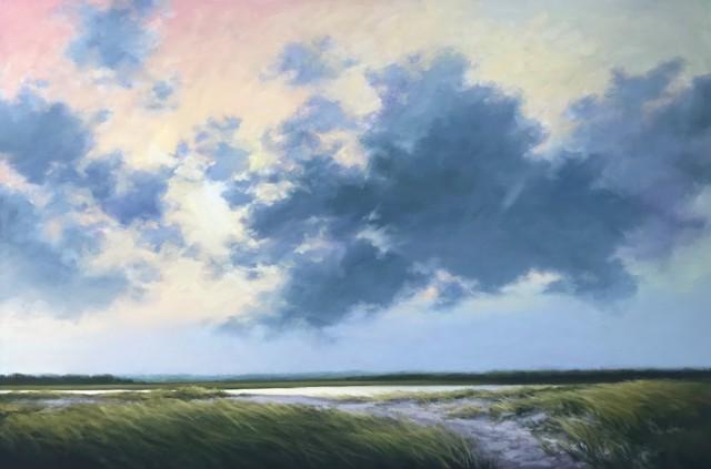 "Margaret Gerding   The Quiet End   Oil on Canvas   40"" X 60""   $10,500.00"