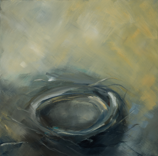 "Ingunn Milla Joergensen | Nest #4 | Oil on Canvas | 12"" X 12"" 
