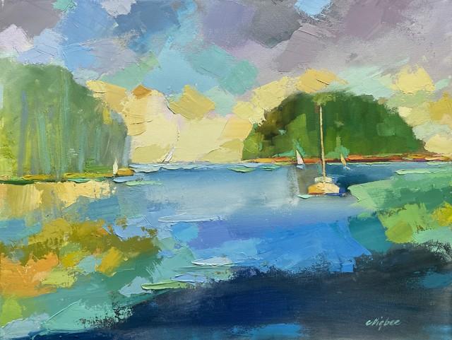 Blue Calm Bay