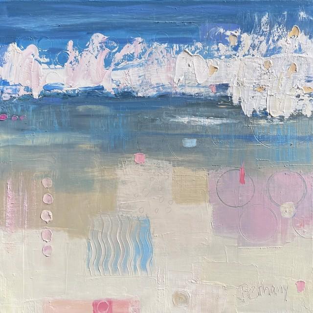 "Bethany Harper Williams   Splash!   Oil on Canvas   14"" X 14""   Sold"