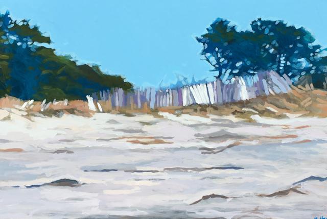 "Liz Hoag | After the Storm | Acrylic | 24"" X 36"" | $2,000.00"