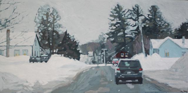 "Liz Hoag | Storm's Coming | Acrylic | 24"" X 48"" | $2,800.00"