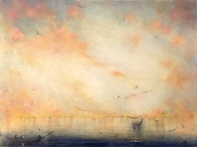 "John LeCours | Nederzee Daydream #26 | Oil on Canvas | 36"" X 40"" | $4,900.00"