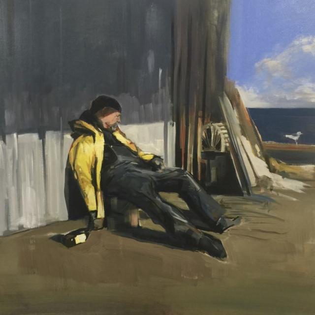 "Craig Mooney | Drunken Sailor | Oil | 36"" X 36"" | $5,000.00"