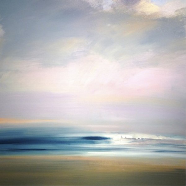 "Craig Mooney | Morning Waves | Oil | 40"" X 40"" 