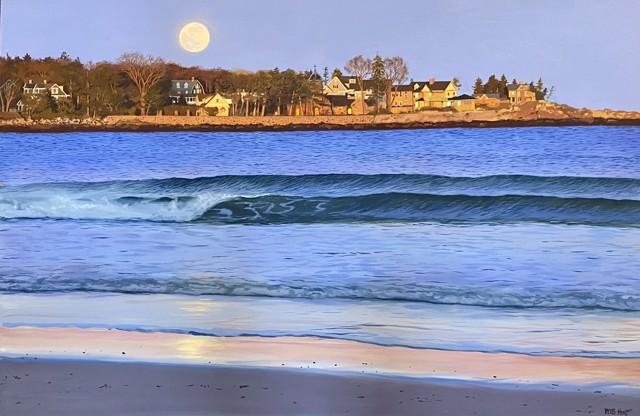 Moon Over St. Ann's