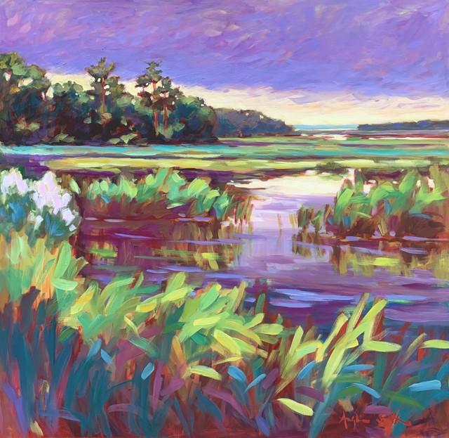 Wadmalaw River Marshland