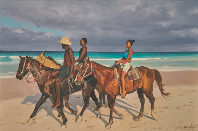 "William B. Hoyt | Freedom Riders | Oil | 24"" X 36"" 