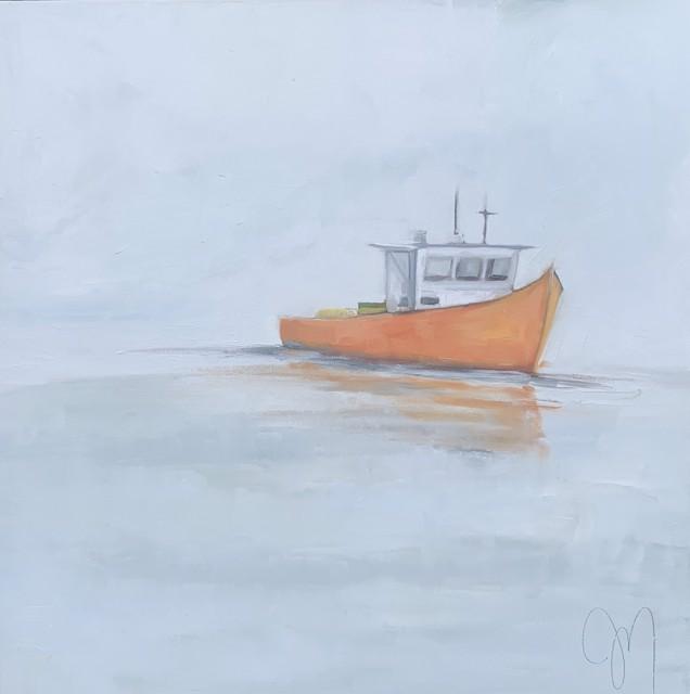 "Jill Matthews | Heading Out | Oil on Canvas | 24"" X 24"" | $1,975.00"