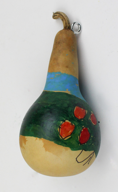 Christmastime Gourd (ornament)