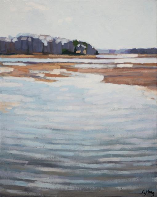 "Liz Hoag | Low Tide | Acrylic | 20"" X 16"" | Sold"