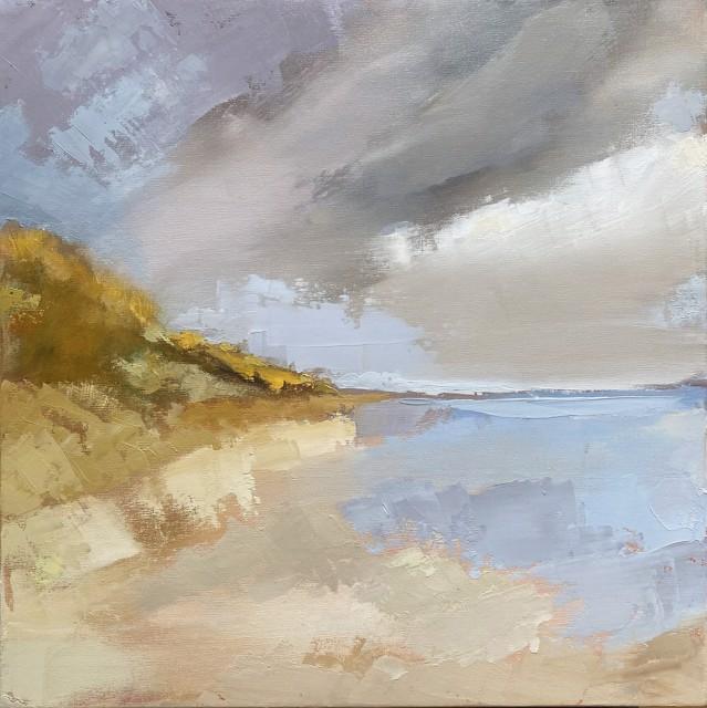 "Claire Bigbee | The Dunes, Ogunquit Beach | Oil on Canvas | 24"" X 24"" | $2,400.00"