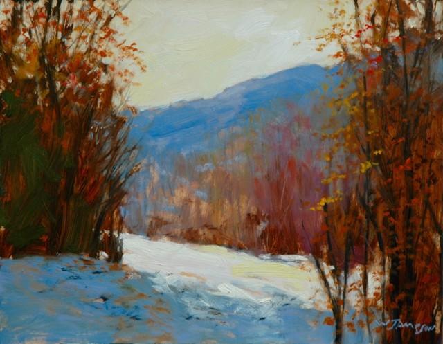 November Snow on the Blue Ridge