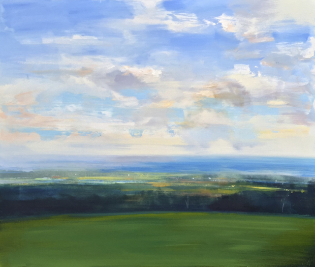 "Craig Mooney | Coastal View | Oil | 44"" X 52"" 
