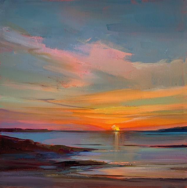 "Holly Ready | Retreat | Oil on Canvas | 12"" X 12"" | $1,000.00"