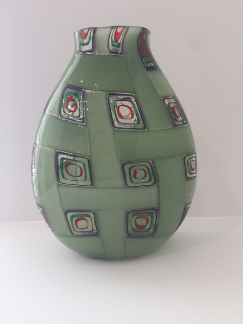 Cane & Murrine Medium Vase