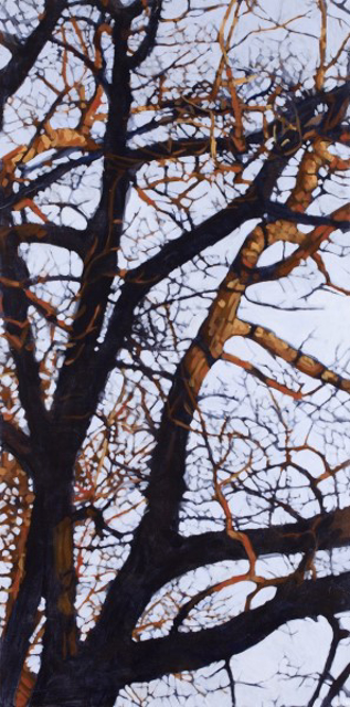 "Liz Hoag | Tangle 6 | Acrylic | 48"" X 24"" 